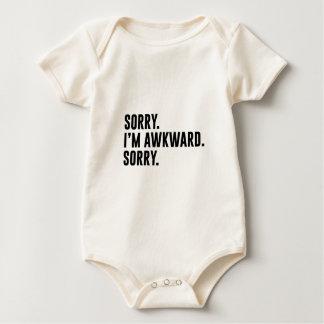Sorry I'm Awkward Sorry Baby Bodysuit