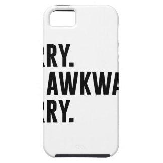 Sorry I'm Awkward Sorry iPhone 5 Case