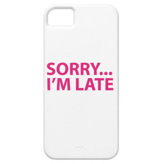 Sorry I'm barks iPhone 5 Case