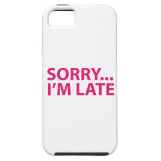 Sorry I'm barks iPhone 5 Cover