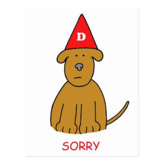Sorry I've been an idiot, forgive me. Postcard