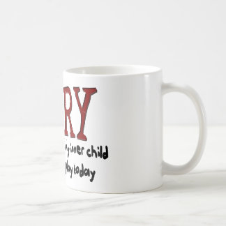 Sorry Outer Adult and Inner Child Coffee Mugs