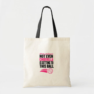 Sorry Princess Volleyball Ball` Tote Bag
