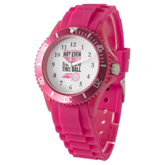 Sorry Princess Volleyball Ball` Watch