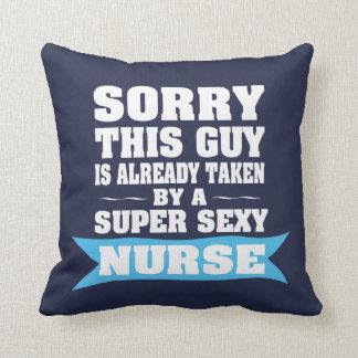 Sorry This Guy is Already Taken Cushion
