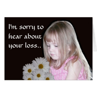 Sorry to hear about your loss card