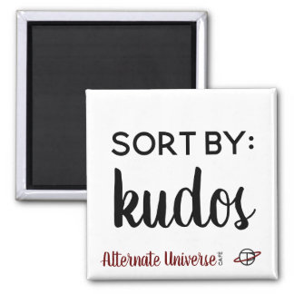 """Sort by: Kudos"" magnet"