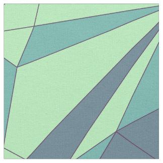 Sort of Geometry – Aqua Fill Fabric