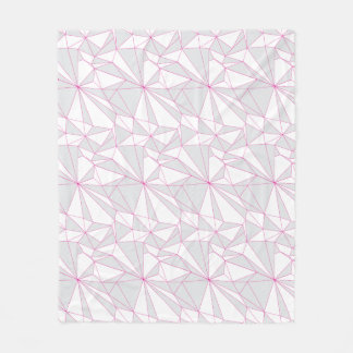 Sort of Geometry Fleece Blanket