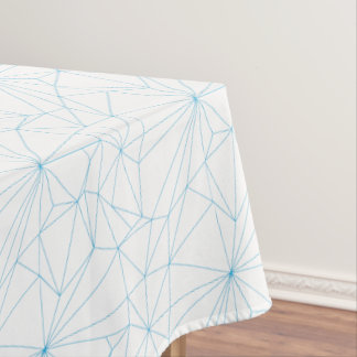 Sort of Geometry Outline Tablecloth