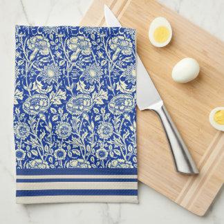 Sorta Blue Calico  (Cotton Dish Towel) Tea Towel