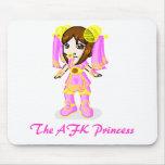 Soryia, The AFK Princess (Big) Mouse Mats