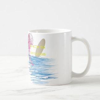 Sos: S.a.v.e O.u.r S.e.a's Basic White Mug