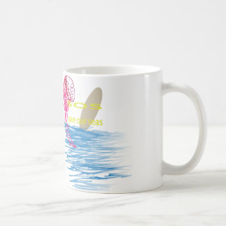 Sos: S.a.v.e O.u.r S.e.a's Classic White Coffee Mug