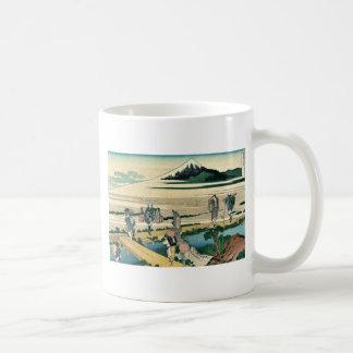 Soshu nakahara by Katsushika, Hokusai Ukiyoe Coffee Mug