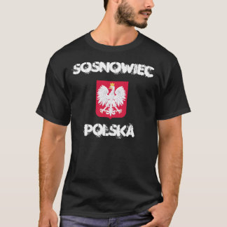 Sosnowiec, Polska, Poland with coat of arms T-Shirt
