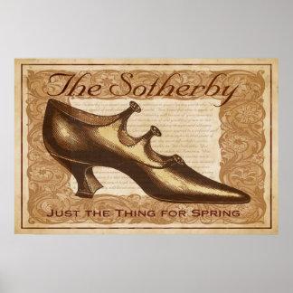 Sotherby Vintage Shoe Print