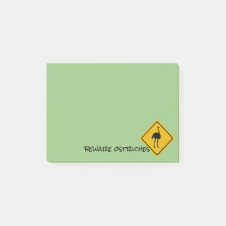 sotrich road sign - Post-It-Notes pad Post-it Notes