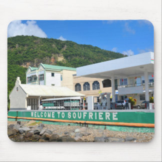 Soufriere Saint Lucia Mouse Pad