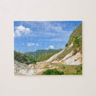 Soufriere Volcano in St. Lucia Jigsaw Puzzle