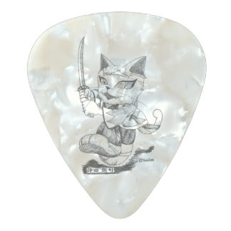 "Souji Okita ""Troupe Camelot"" (Souzi Okita Pearl Celluloid Guitar Pick"