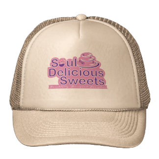 Soul Delicious Sweets White Trucker Hat
