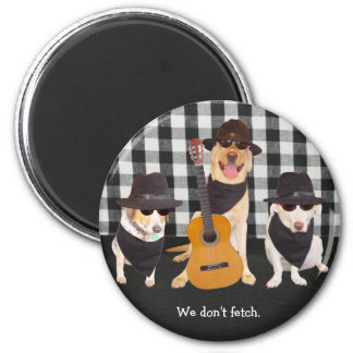 Soul Dogs 6 Cm Round Magnet