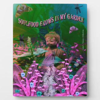 Soul Food Buddha Picture Plaque