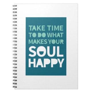 Soul Happy Notebooks