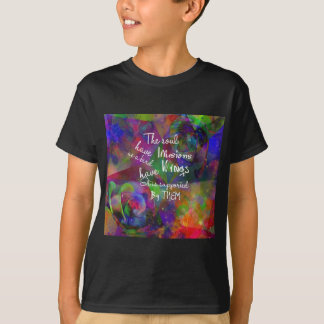 Soul have wings as bird T-Shirt