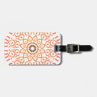 Soul mandala luggage tag