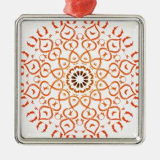 Soul mandala metal ornament