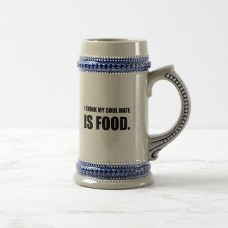 Soul Mate Food Beer Stein