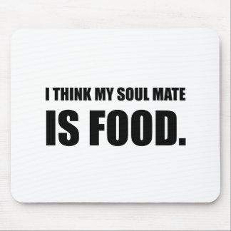Soul Mate Food Mouse Pad