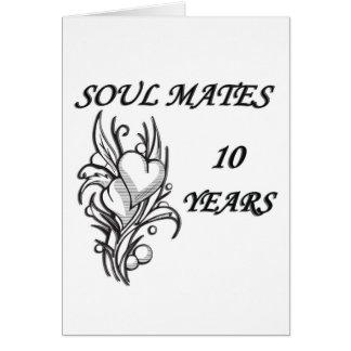 SOUL MATES 10 Years Card
