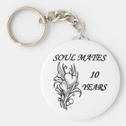 SOUL MATES 10 Years Keychain