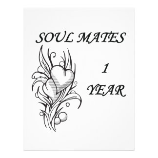 SOUL MATES 1 YEAR FLYER