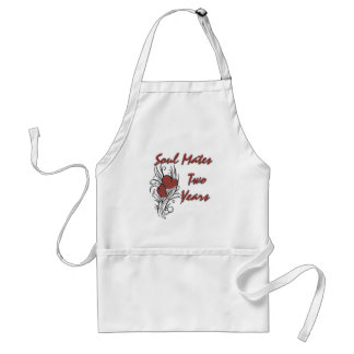 Soul Mates 2 Years Apron