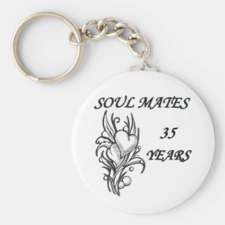 SOUL MATES 35 Years Keychains