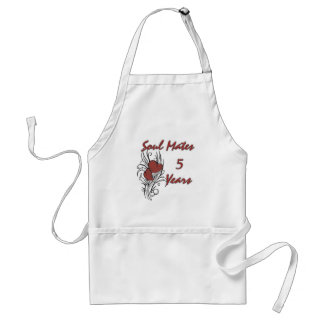 Soul Mates 5 Years Standard Apron
