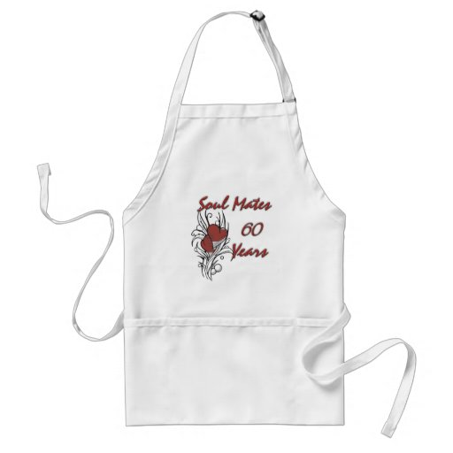 Soul Mates 60 Years Apron