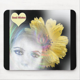 """Soul Mates Forever""* Mouse Pad"