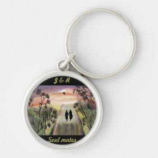 """Soul Mates"" Personalized key chain/ring""* Key Ring"
