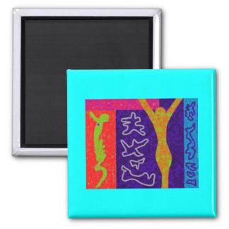 Soul ~ Modern Art ~ Fridge Magnets
