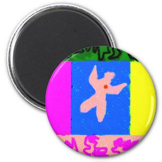 Soul ~ Modern Art ~ Refrigerator Magnet