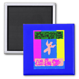 Soul Modern Art Magnets