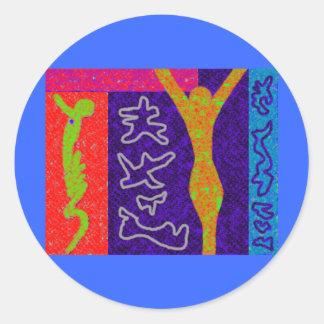 Soul Modern Art Sticker