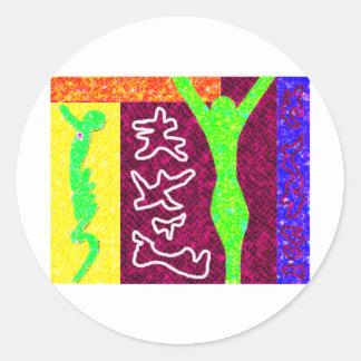Soul Modern Art Stickers
