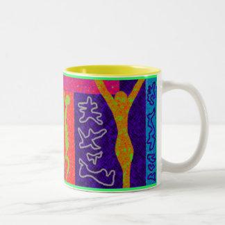 Soul ~ Modern Art ~ Two-Tone Mug