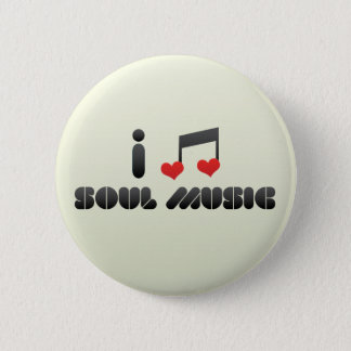 Soul Music 6 Cm Round Badge